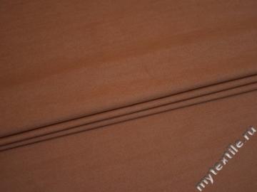 Джинс терракотовый хлопок с эластаном  ВА121