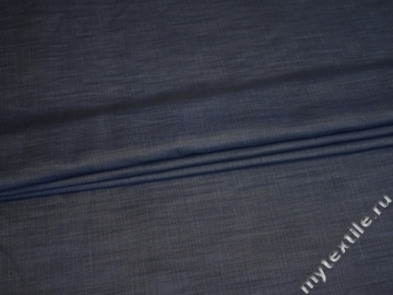Джинс синий из вискозы ВА138