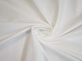 Костюмная белая ткань из хлопка с эластаном ВЕ617