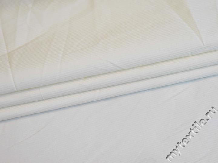 Костюмная молочная ткань хлопок с эластаном ВЕ613