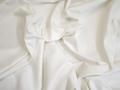 Костюмная белая ткань хлопок с эластаном ВЕ610