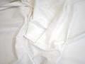 Костюмная белая ткань хлопок с эластаном ВЕ630
