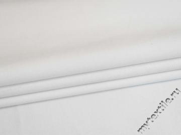 Костюмная белая ткань хлопок ВЕ649
