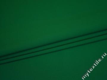 Габардин зелёный полиэстер ВБ226