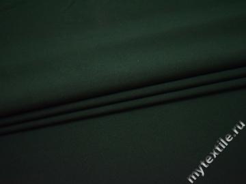 Габардин тёмно-зелёный полиэстер ВБ219