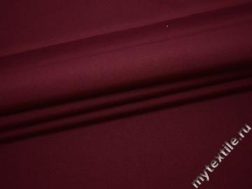 Габардин бордовый полиэстер ВБ251