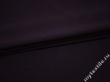 Костюмная фиолетовая ткань вискоза эластан ВА440