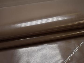Кожзаменитель коричневый полиэстер ГЕ119