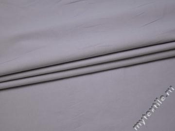 Костюмная сиреневая ткань хлопок с эластаном ВА426