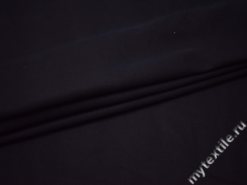Костюмная тёмно-синяя ткань хлопок ВА21