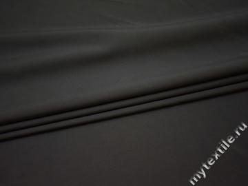 Костюмная серая ткань полиэстер вискоза ВА58