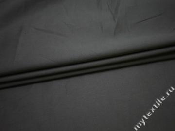 Костюмная серая ткань хлопок ВА52