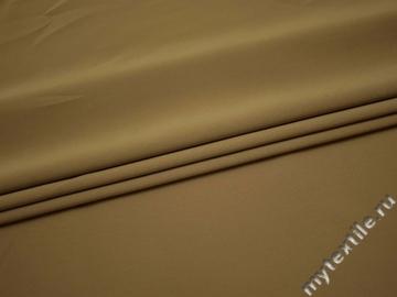 Костюмная бежевая ткань полиэстер эластан ВА51