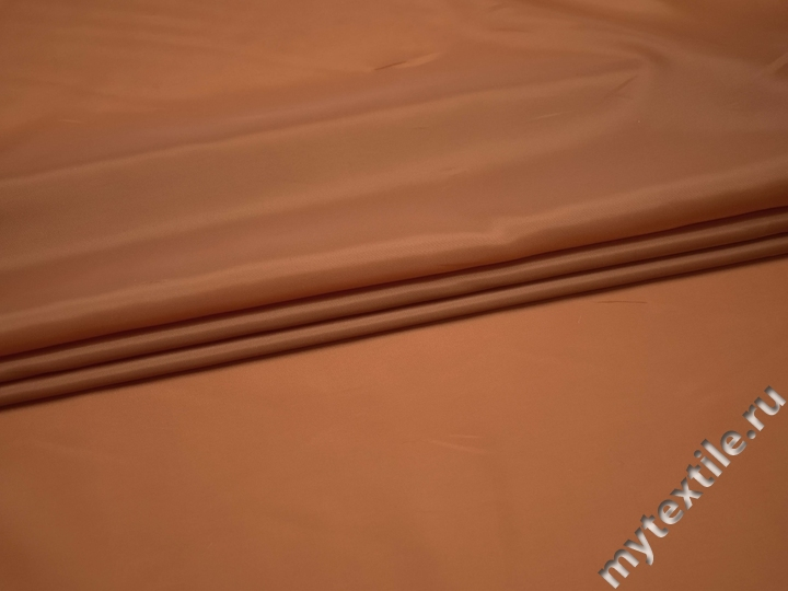 Подкладочная оранжевая ткань полиэстер ГА48
