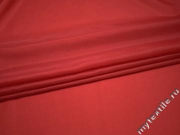 Подкладочная красная ткань полиэстер ГА43
