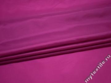 Подкладочная малиновая ткань полиэстер ГА429