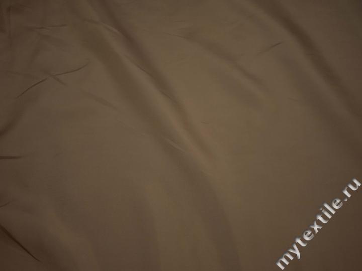 Подкладочная цвета капучино ткань полиэстер ГА442