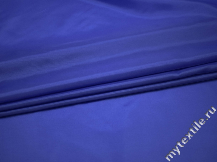 Подкладочная синяя ткань полиэстер ГЕ464