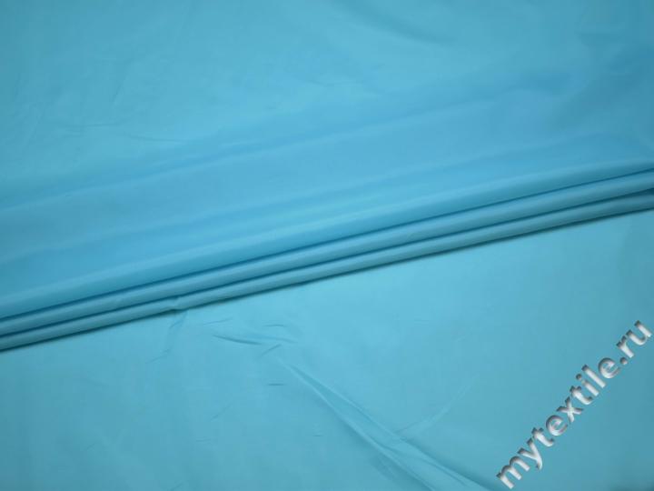 Подкладочная голубая ткань полиэстер ГЕ478