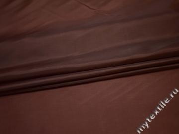 Подкладочная коричневая ткань полиэстер ГЕ491