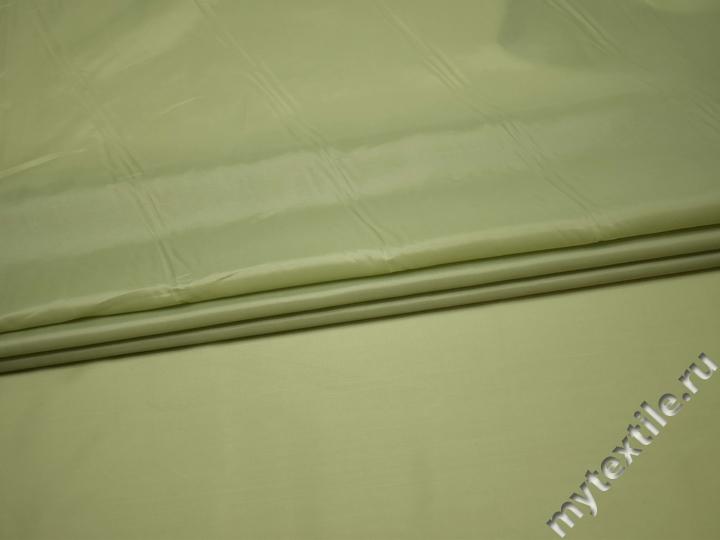 Подкладочная оливковая ткань полиэстер ГЕ498