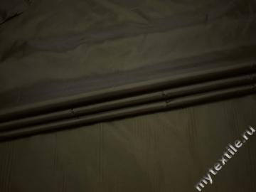 Подкладочная зеленая ткань полиэстер ГЕ4100
