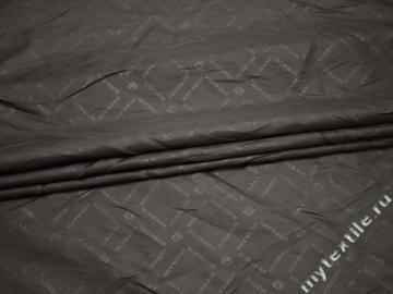 Подкладочная серая ткань с надписью ГЕ4103