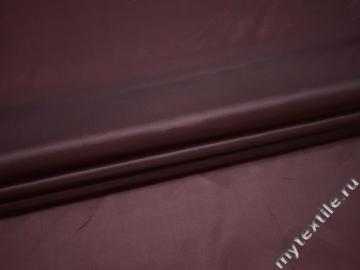 Подкладочная бордовая ткань полиэстер ГЕ4112