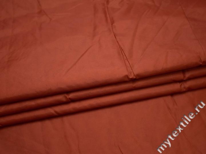 Курточная стеганая коричневая из полиэстера ДБ47