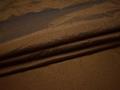 Курточная стеганая  коричневая из полиэстера ДБ440
