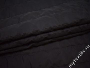 Курточная стеганая черная из полиэстера ДБ425