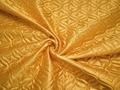 Подкладка стеганая золотая из полиэстера ДГ414