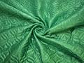 Подкладкка стеганая зеленая из полиэстера ДГ43