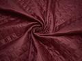 Подкладка стеганая бордовая из полиэстера ДГ419