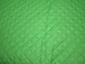Подкладка стеганая зеленая из полиэстера ДГ427