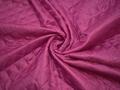 Подкладка стеганая малиновая из полиэстера ДГ429