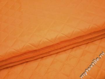 Курточная стеганая оранжевая из полиэстера ДГ422