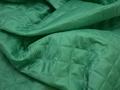 Подкладка  стеганая зеленая из полиэстера ДГ413