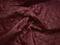 Подкладка стеганая бордовая из полиэстера ДГ410
