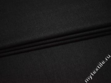 Костюмная серая ткань хлопок полиэстер ВБ339