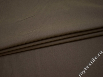 Костюмная серая ткань хлопок с эластаном  ВБ350