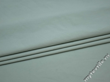 Костюмная голубая ткань полиэстер с эластаном ВБ121