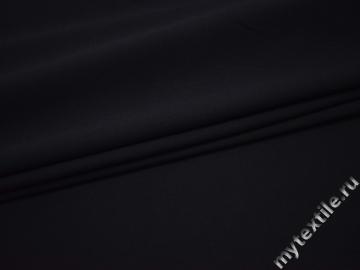 Костюмная синяя ткань вискоза ВБ119