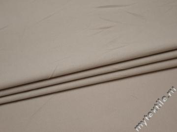 Костюмная серая ткань хлопок с эластаном  ВБ115