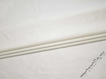 Костюмная белая ткань хлопок с вискозой ВБ18