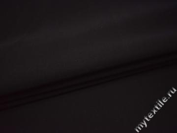Костюмная черная ткань хлопок с эластаном ВБ13