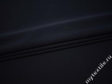 Костюмная синяя ткань полиэстер с вискозой  ВБ136