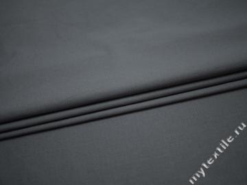 Костюмная серая ткань хлопок ВБ38