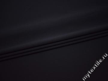 Костюмная тёмно-синяя полиэстер с эластаном ВБ39