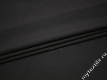 Костюмная тёмно-серая ткань полиэстер ВБ321